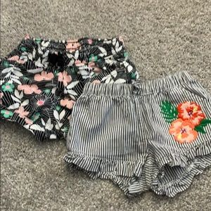 2 pairs of Crazy 8 brand toddler shirts - size 3T
